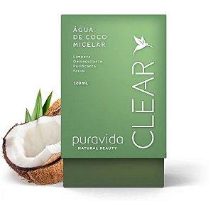 Água de coco micelar  Puravida 120ml