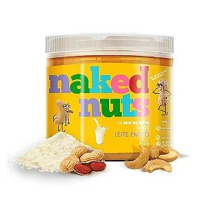 Pasta de mix de nuts com leite em pó Naked Nuts 450g