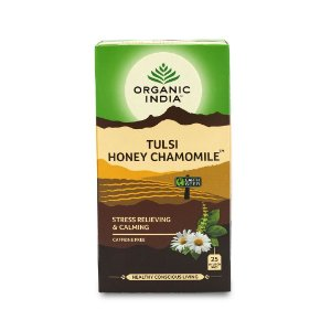Cha tulsi honey chamomile Organic India 25 saches
