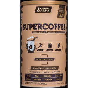 Supercoffee economic size sabor tradicional Caffeine Army 380g