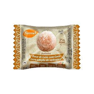 Bolinha de doce de leite com coco Flormel 10g
