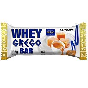 Whey grego bar sabor doce de leite Nutrata 40g