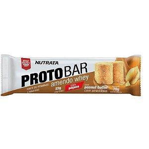 Protobar amendoim Nutrata 70g