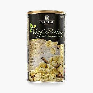 Veggie whey protein banana com canela Essential 462g