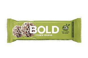 Barra de proteína sabor cocada vegana Bold Bar 60g