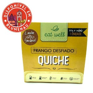 Quiche de frango desfiado Eat Well