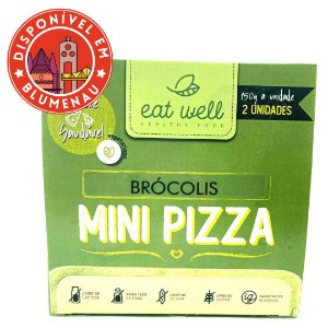 Mini pizza sabor brócolis Eat Well 2 unidades