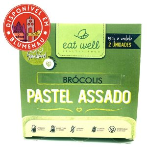 Pastel assado brócolis Eat Well 2 unidades