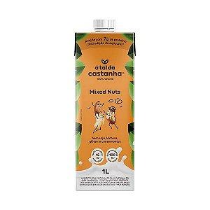 Bebida vegetal de castanha mixed nuts A tal da castanha 1l