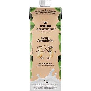 Bebida vegetal de caju + amendoim A tal da castanha 1l