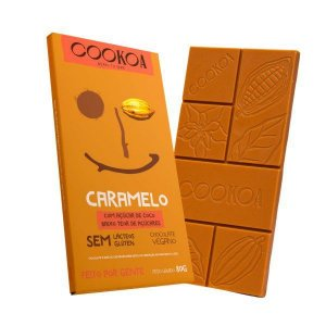 Chocolate caramelo Cookoa 80g