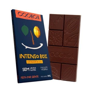 Chocolate intenso 80% Cookoa 80g