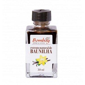 Extrato natural de baunilha Bombay 30ml