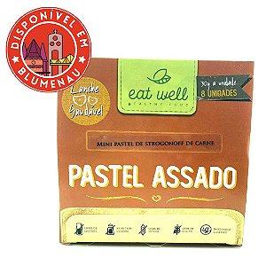 Mini pastel assado de strogonoff de carne Eat Well 8 unidades