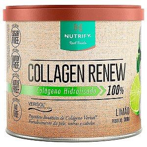 Colágeno sabor limão Nutrify 300g