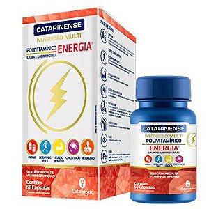 Polivitamínico multi energia Catarinense 60 cápsulas