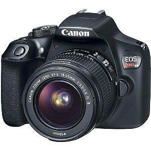 Câmera Canon EOS Rebel T6 com Lente 18-55mm f/3.5-5.6 IS II