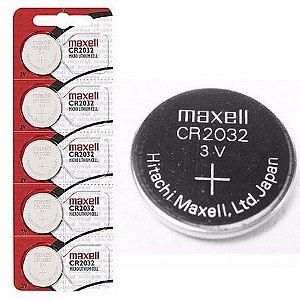 Caixa Com 100 Unidades Baterias Cr2032 Maxell