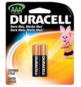 Kit 12 Cartelas De Pilhas Duracell Alcalina AAA Palito Nfe