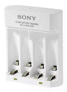 Carregador De Pilhas Sony Usb AA/AAA