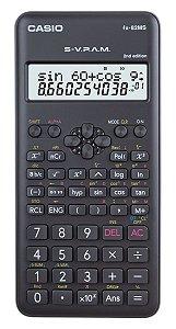 Calculadora Cientifica Casio Fx-82ms 240 Funções