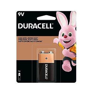 Bateria 9v Duracell Alcalina