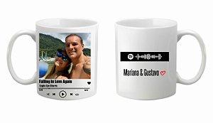 Caneca Cerâmica - interativa Spotify