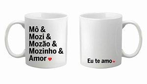 Caneca Cerâmica - amor