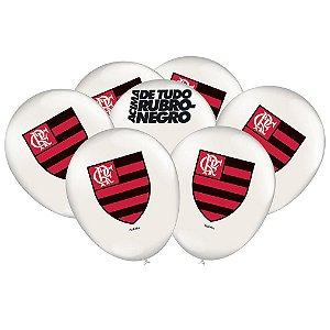 Balão Especial 9 Polegadas - Flamengo - 25 unidades