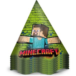 Chapéu de Aniversário - Minecraft