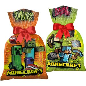 Sacola Plástica Surpresa Minecraft
