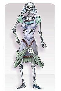 Painel esqueleto noiva articulado c/1