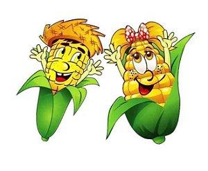 Painéis de milhos caipiras para decoração de festa junina c/2