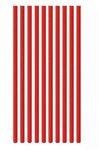 Canudo de papel - Vermelho