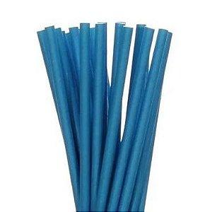 Canudo de papel - Azul
