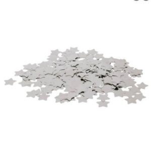 Confetes Estrela Prata - 20 gramas