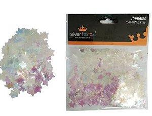 Confete estrela - Fruta cor - com 6 unidades