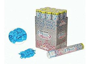 Lança Confetes Chá Revelação Azul