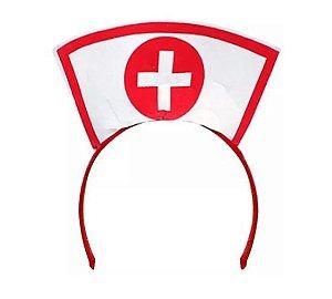 Tiara Plástica Enfermeira
