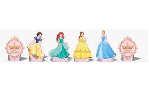 Kit Enfeite Mesa Eva Princesas