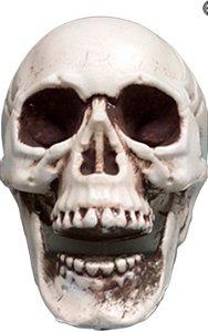 Caveira De Plástico Para Decoração De Festas De Halloween / Horror