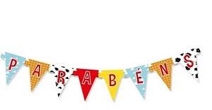 Faixa Decorativa De Aniversário Parabéns Toy Story