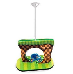 Decoração para Mesa em EVA com Suporte para Balão Sonic em EVA Piffer