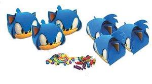 Caixa surpresa - Sonic - 6 un.