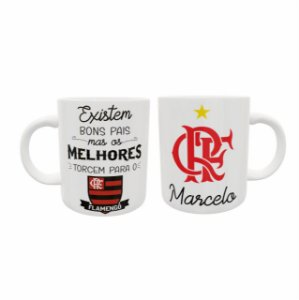 Caneca Cerâmica - Dia Dos Pais - Flamengo
