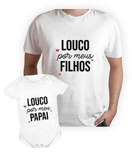 Kit Dia dos Pais - Camisa + Body