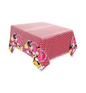 Toalha de Mesa Principal - Minnie Vermelha