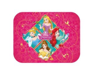 Tampa para Marmitinha 8 Unidades - Princesas Disney - Regina Festas