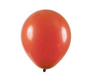 Balão Látex - 9 Polegadas - Terracota - 50 unidades