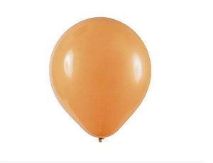 Balão Látex - 9 Polegadas Mocha - 50 unidades